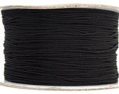 10 Meters Nylon Knotting Cord - Black 1mm (100000)