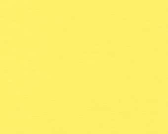 Two (2) Yards - Solid Kona Cotton Fabric-Color of the Year 2016-  Robert Kaufman K001-550 Highlight Yellow