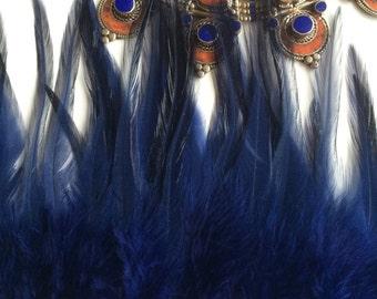BELLA COQUE SADDLE, Exclusive Quality / Royal  Blue  / B - 21