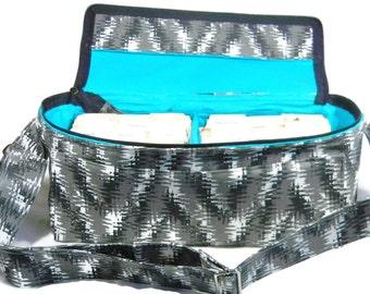 Coupon Pocketbook, Extreme Couponing, Coupon Bag, Coupon Binder, Coupon Holder, Modern Chevron