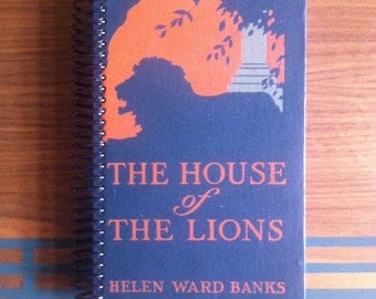 House of the Lions , Blank Book Journal or Sketchbook