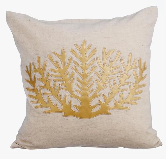 Organic Decorative Pillow Covers : Natural Linen Decorative Throw Pillow Covers Accent Pillow