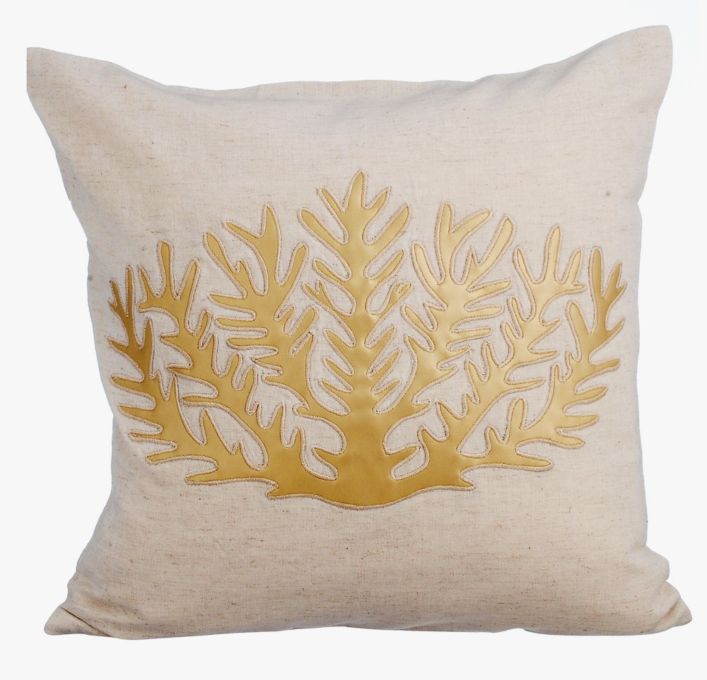 Natural Decorative Pillow : Natural Linen Decorative Throw Pillow Covers Accent Pillow