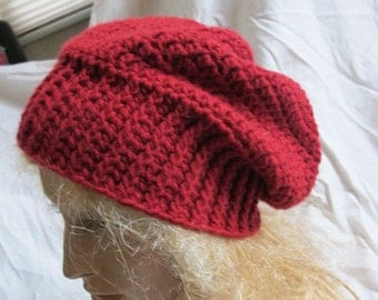 Red Slouchy Hat (5464)