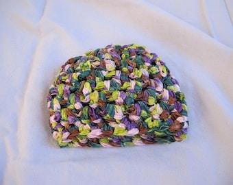 Multicolor Preemie Beanie (5536)