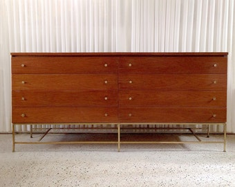 Rare Paul McCobb Calvin Directional 8 Drawer Chest or Credenza Mid Century Modern