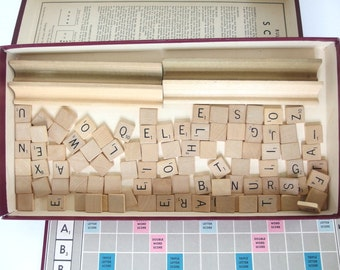 Vintage Scrabble Game - Selchow and Righter, 1948, 1949