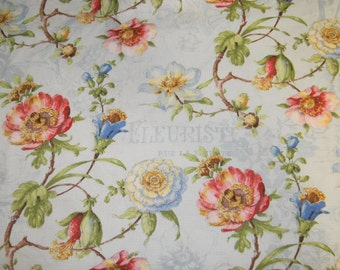 Cotton Fabric Paris Forever by Wilmington Fabrics 86386 Blue