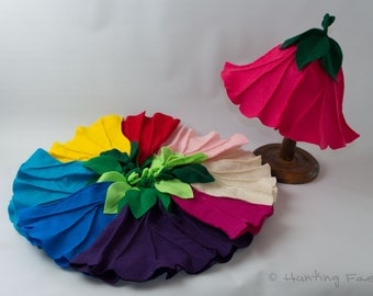 Flower Fairy Petal Hat for pretend play or Fairy Costume