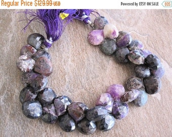 SALE Sugilite Beads, Sugilite Briolettes, Luxe AAA, Purple Gemstone Beads, SKU 2418A