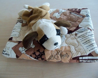 Pet Quilt Small Breed Dog Blanket Handmade Cotton Quilt