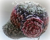 Made and Ready to Ship!!  Newsboy Cap Cattails Size 3yrs - 10Yrs Great Fall Colors