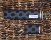Key Chain, Key Fob, Wristlet Key Fob, Keyper, Wristlet, Ebony TaDot