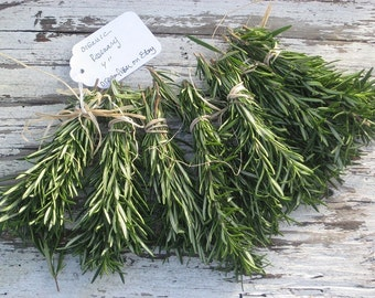 """50 Unique Wedding favors / Fresh ROSEMARY sprigs Organic / Fragrant  4"""" Decor/ trendy Wedding Invitations Settings /RESERVE Today/ Limited"""