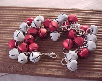 Silver Christmas Jingle Bell Charm Bracelet