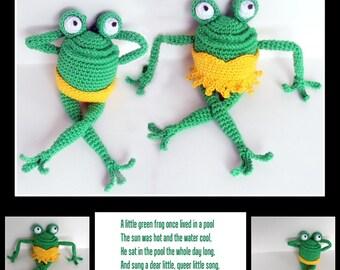 Pattern of Fanny & Freddy Frog