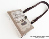 Shakespeare Plays Book Purse - William Shakespeare Recycled Book - Literature Gift - Romeo and Juliet Book Cover Handbag