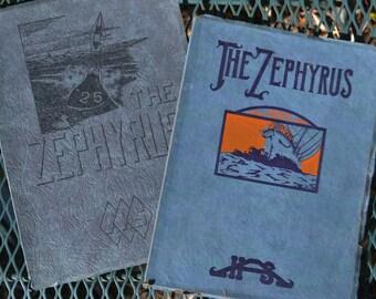 Pair of Yearbooks