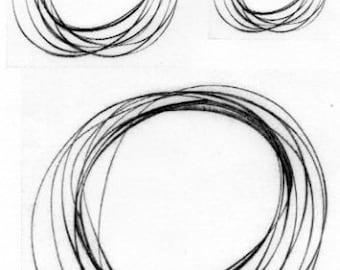 Thermofax Screen - Circles