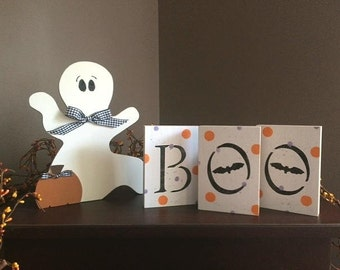 Standing Ghost or Boo Blocks