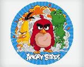 Angry Birds Lollipops by Vintage Confections