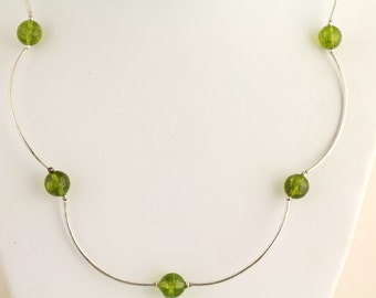 Peridot Necklace. Listing 262642045