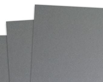 Basis GREY 80lb Card Stock 8.5x11 - 25 sheets