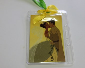 Luggage Bag Tag ID Holder Disney Princess and the Frog