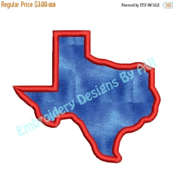 Sale off texas state applique machine by