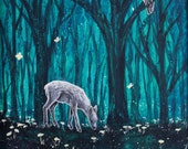 Evening In The Woods - Fine Art Print of Original Painting