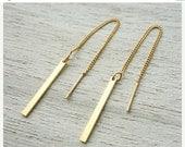 Sale 20% OFF Breeze Chain Earrings, nautical earrings