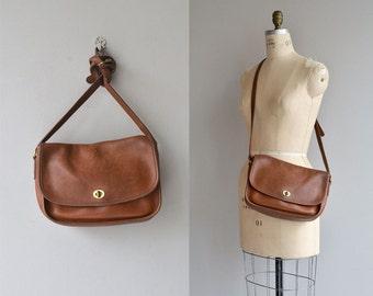 Coach 'City' bag | vintage Coach purse | large brown Coach shoulder bag