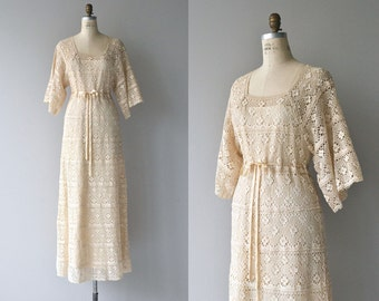 Rocambolesco lace wedding gown | 1970s wedding dress | vintage 70s lace wedding dress