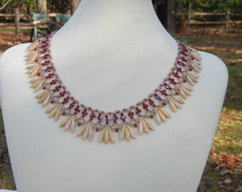 Daggers and Lace Necklace