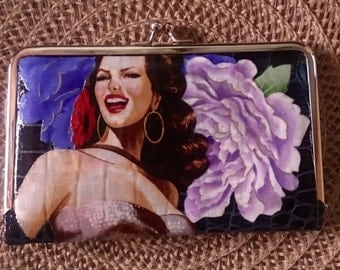 Pin up Wallet / Clutch