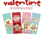 12 Valentine Bookmarks & Tags-Ideas for Gift Packaging with Valentine Treats  Book Mark