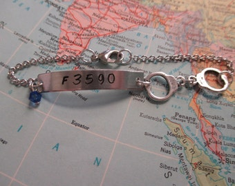 The Oliver Bracelet - Custom Law Enforcement Bracelet