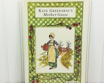 Kate Greenaway's Mother Goose, Gramercy 1978 Printing First Edition, Traditional Nursery Rhymes