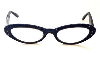 Vintage glasses Cat glasses retro glasses Small glasses Clear glasses Plastic glasses Black Glasses Granny glasses hipster glasses