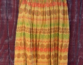 Rosa - vintage 50s handmade skirt M L
