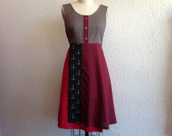 Lizzy patchwork sun dress Sz 4/6