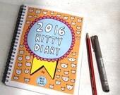 2016 Kitty Diary