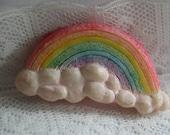 Rainbow from the Noah's Ark Button Set