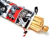 Yarn Swift Cover Yarn Winder Drawstring Padded Bag -  Walking Dead Michonne