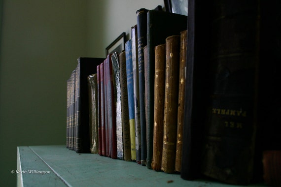 One Room Schoolhouse Bookshelf—Photo Print or Canvas Gallery Wrap