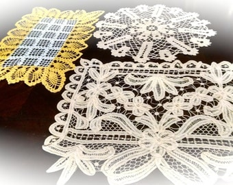 Doily  Vintage Retro  Table Linens  You Pick What You Want