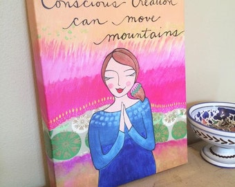 Canvas Print : Conscious Creation