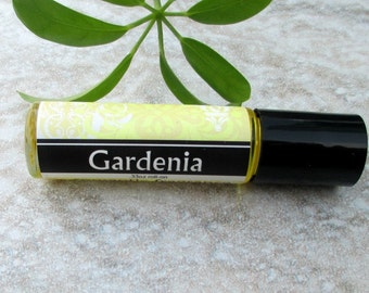Gardenia On Perfume, sweet floral fragrance, concentrated vegan formula