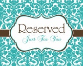 Reserved fir Woodnmph