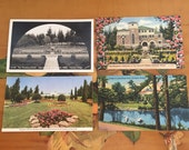 Portland Postcards Oregon Vintage Souvenir Photos Travel USA set of 4